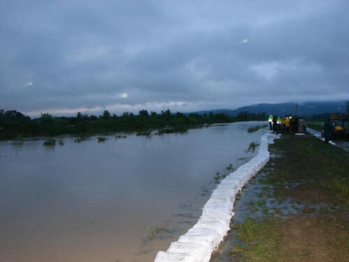 Obrana od poplave 2014.g.