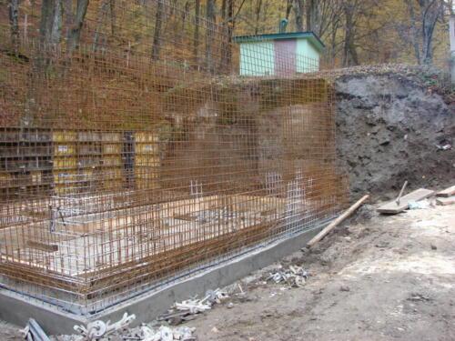 Izgradnja vodospreme