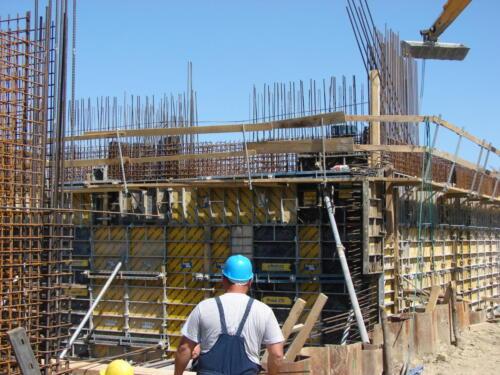 Gradnja vodocrpilišta